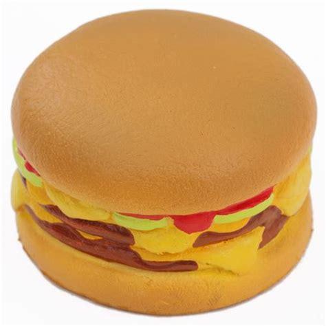 Soft And Slowrise Squishy Vlo Burger hamburger cheeseburger squishy charm kawaii cafe de n food squishy squishies kawaii