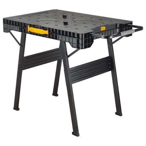 portable folding bench dewalt 33 in folding portable workbench dwst11556 the