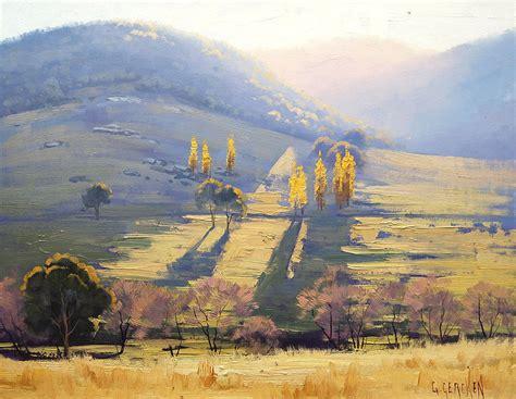 impressionist landscape painting by artsaus on deviantart