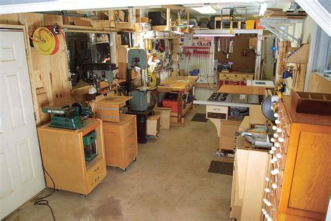 setting up a small woodworking shop garage workshop and basement layout fundamentals of