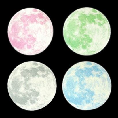 Moon And Stickers