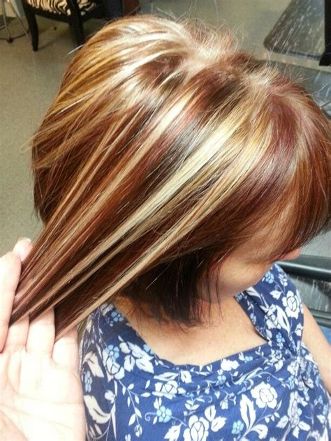 blonde base colours cinnamon base color with creamy blonde highlights and