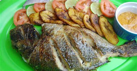cuisine dorade dorade au four et marinade aux 233 pices africaines recette