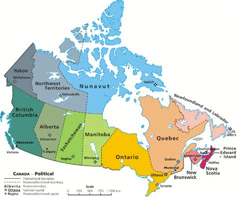 canadian map facts interesting facts about canada canada facts