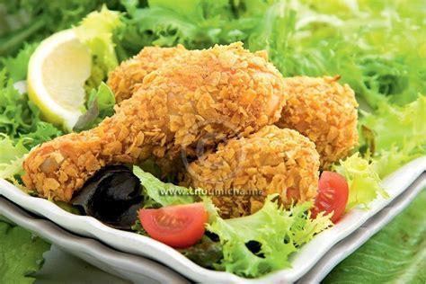 Recette Pilons de poulet croustillants