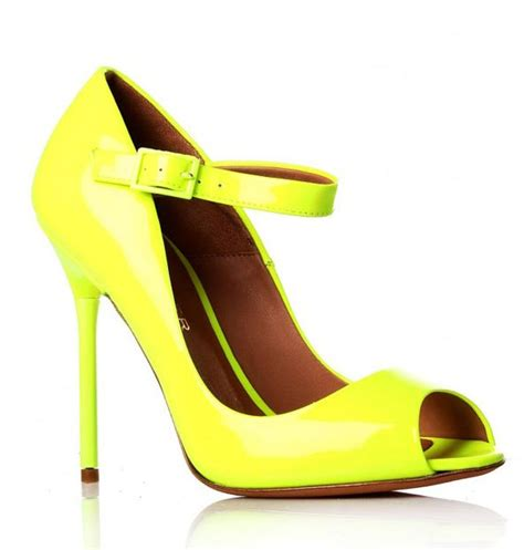 neon shoes brand footwear best shoes neon colors summer 2012 continue
