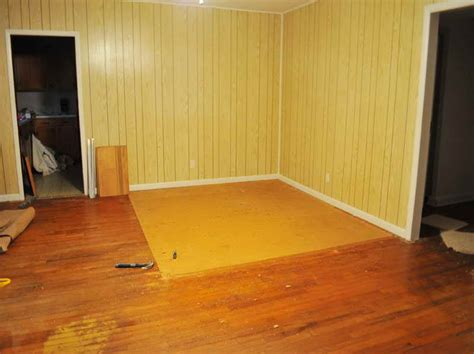 can you paint wood paneling painting over wood paneling before and after