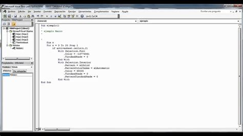 tutorial visual basic script pdf macros en excel introduccion a visual basic script youtube
