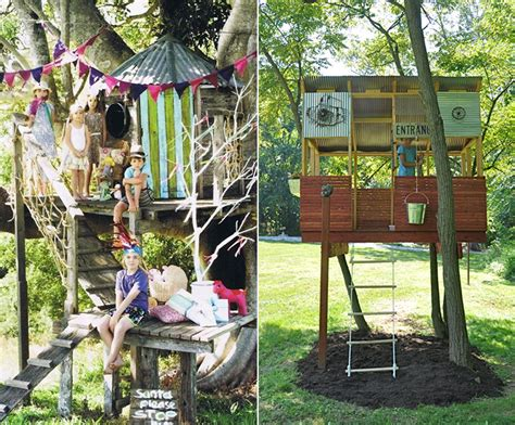 Outside Playhouse Plans by Top 10 Reasons Kids Need A Treehouse