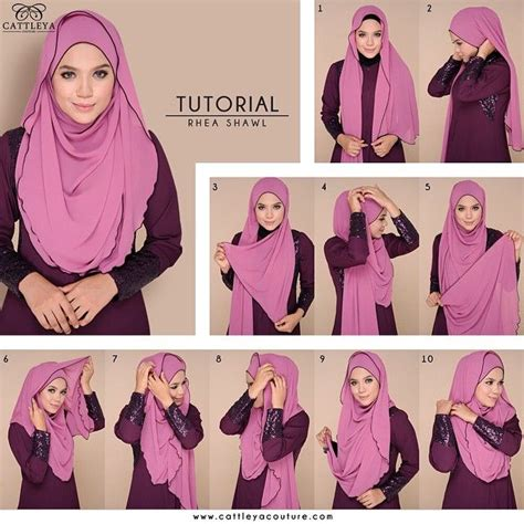 hijab tutorial voluminous 135 best images about hijab shawl styles remember to