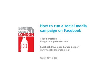 how to run maxbounty caigns on social media best method 2017 how to run a social media caign on facebook by nudge london