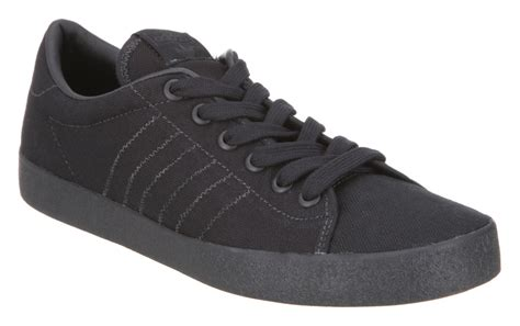 adidas indoor tennis clean black canvas trainers shoes ebay