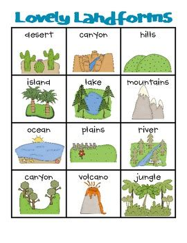 Banister Top Lovely Landforms Writing Station Pinpoint