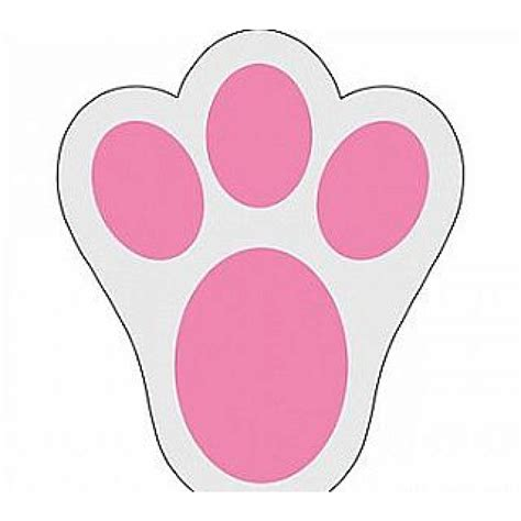 bunny footprints clipart best