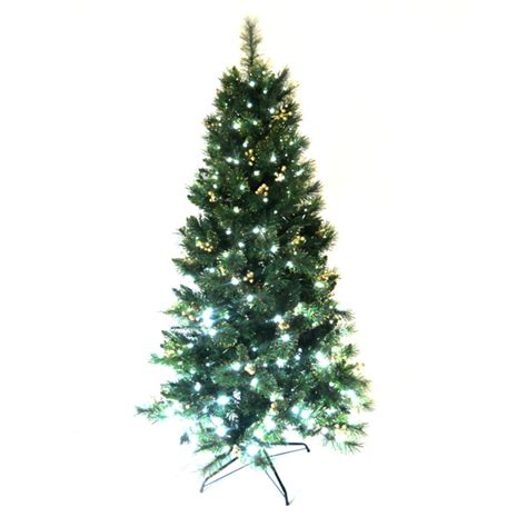 6ft golden needle tips pre lit christmas tree king tree