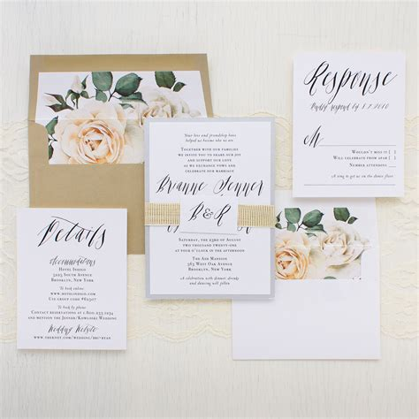 modern calligraphy wedding invitations beacon