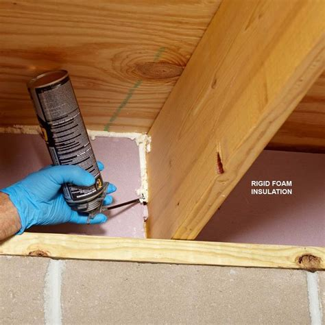 17 Ways to Master Using Spray Foam at Home   Home repairs