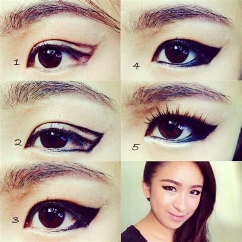 asian eye makeup tutorial how to create a natural how to use makeup make eyes look asian saubhaya makeup