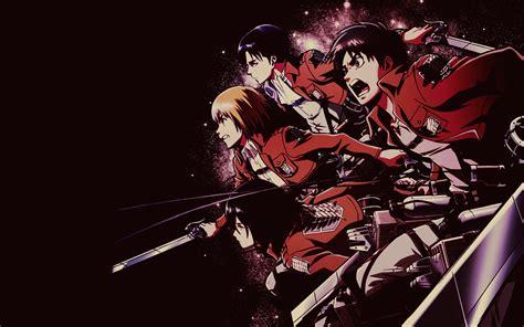 fond decran illustration anime dessin anime shingeki