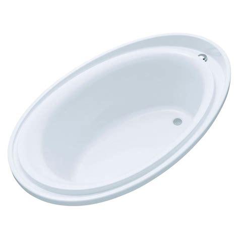 kohler purist bathtub kohler purist 6 ft reversible drain drop in acrylic