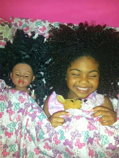 girl with look alike doll bored panda