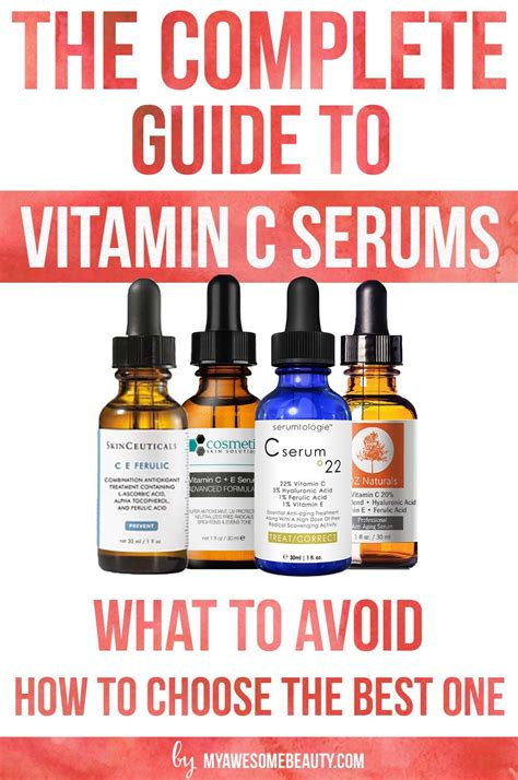 Vitamin The Right the right vitamin c form for your vitamin c serum