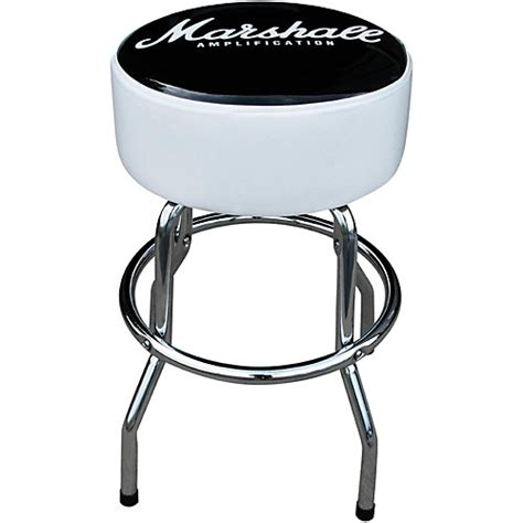 guitar bar stools marshall 24 quot swivel bar stool guitar center