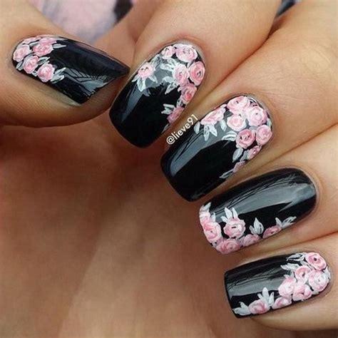 black nail art designs 50 sassy black nail art designs to envy