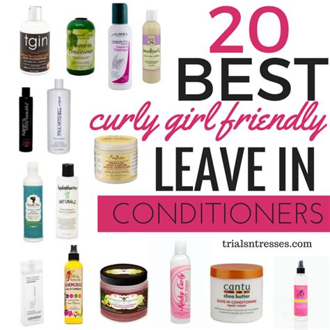 best african american curly hair products 20 best curly girl friendly leave in conditioners curly