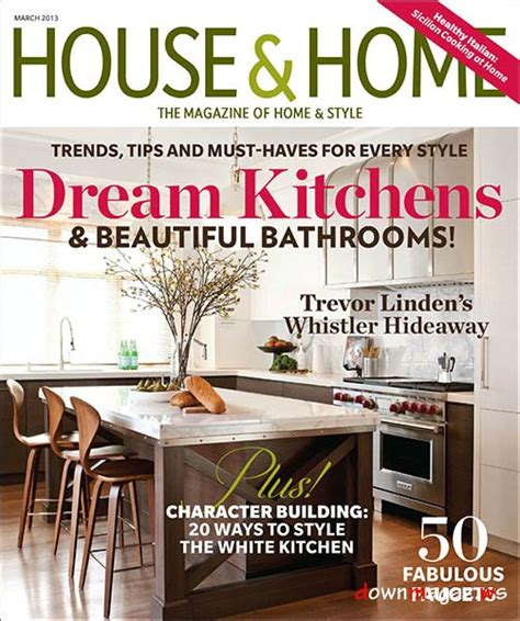 home interior design magazine pdf free download house home march 2013 187 download pdf magazines