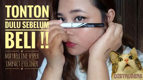 Maybelline Hyper Impact tutorial review maybelline hyper impact eyeliner