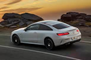 Mercedes E Class Coupe 2017 Mercedes E Class Coupe Makes Debut In
