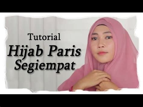 Youtube Tutorial Hijab Paris | tutorial hijab paris segi empat 2014 youtube
