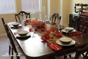 Decorating Ideas For Dining Room Table Dining Table Setting Ideas Home Design