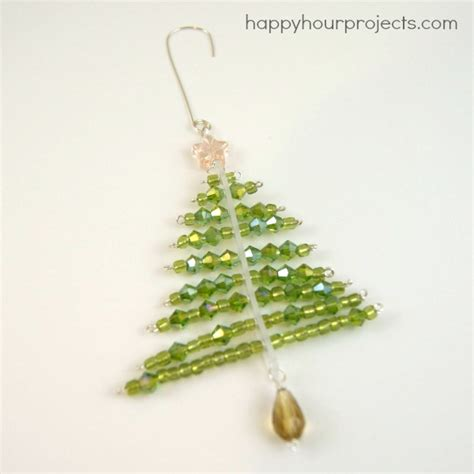 ornament tree project beaded tree ornament happy hour projects