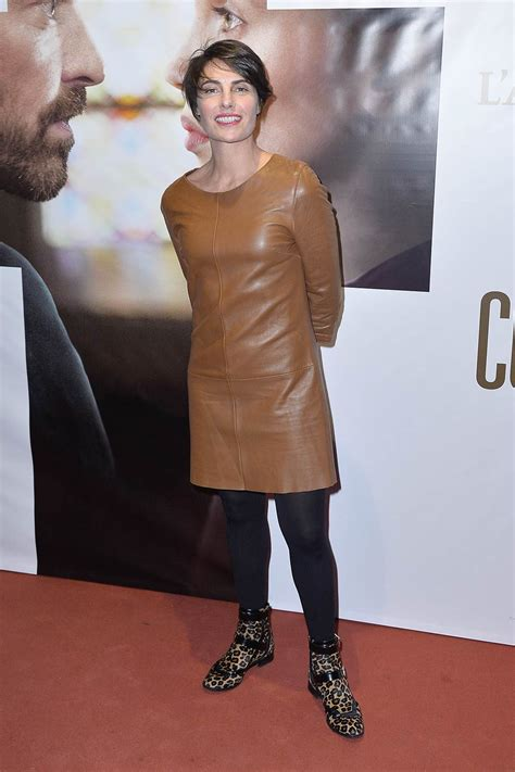 alessandra sublet leather dress alessandra sublet attends the la confession