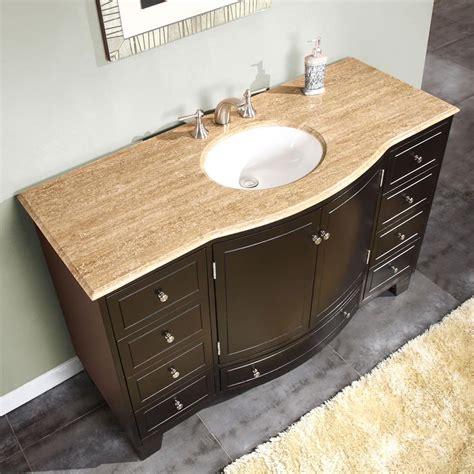 Silkroad Exclusive Hyp 0703 T Silkroad Exclusive Traditional 55 Quot Single Sink Bathroom