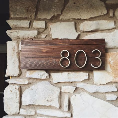 house numbers diy house number plaque www imgkid the image kid