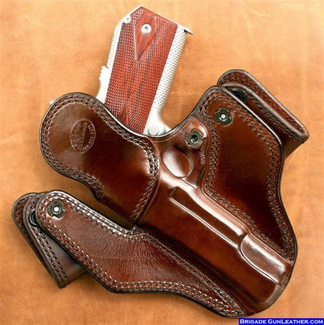 Handmade Leather Gun Holsters - handmade gun holsters 28 images brigade custom