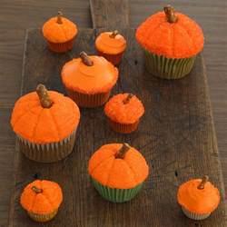 pumpkin cupcakes 50 halloween treats