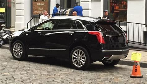 new cadillac xt5 snapped undisguised gtspirit