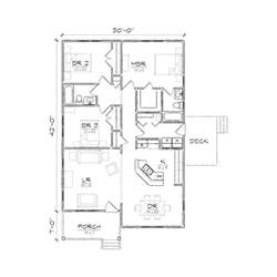 Two Bedroom Bungalow Floor Plans Sd Buy Garage Gable Roof Plans