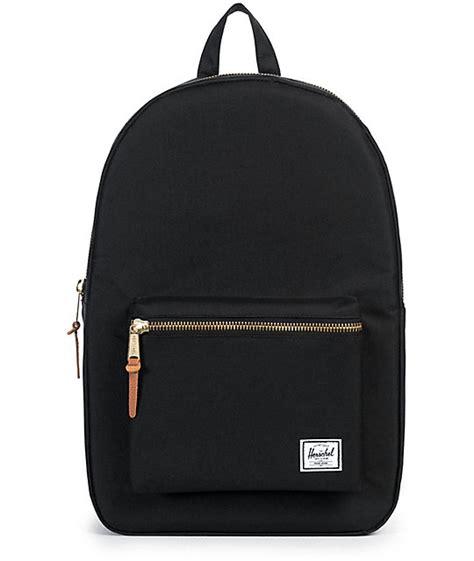 black backpack herschel supply co settlement black 11l backpack