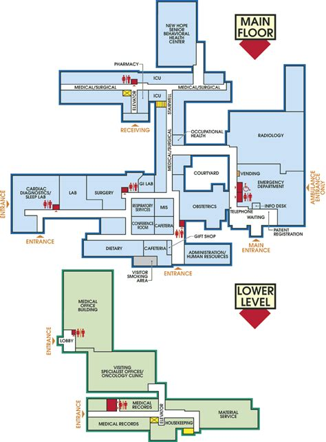 hospital floor plan a revenue managers point of view on hospitals home