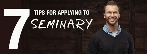 7 Tips On Applying For Grants by 7 Tips For Applying To Seminary Getting Financial Aid