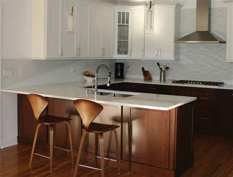 Sink Island Kitchen by A Kitchen Peninsula Better Than An Island