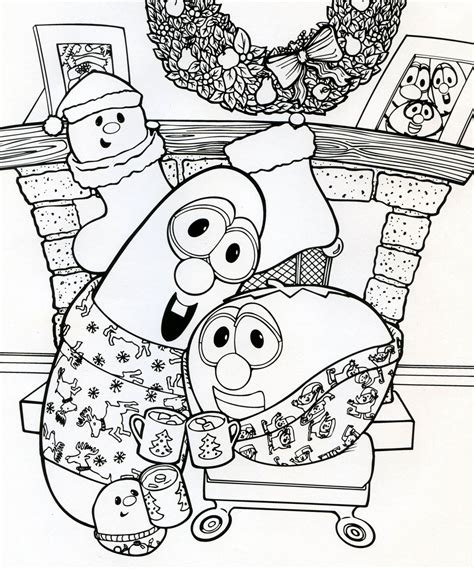 christmas coloring page jody nilsen illustration