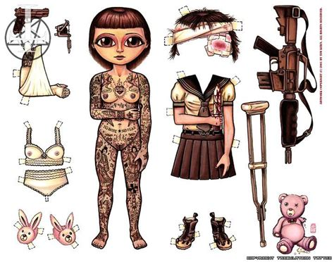 tattoo paper dolls 314 best paperdolls images on pinterest dit ben ik