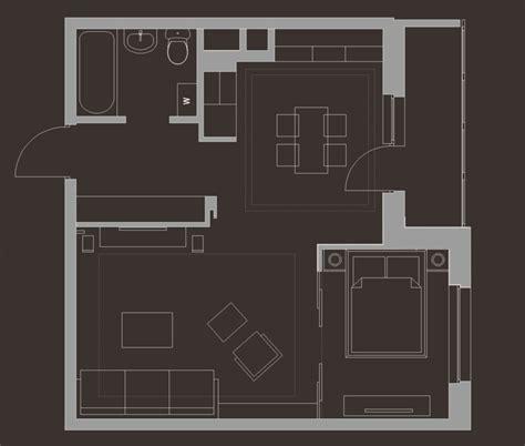 wohnung 45 qm einrichten 1 zimmer wohnung einrichten 13 apartments als inspiration