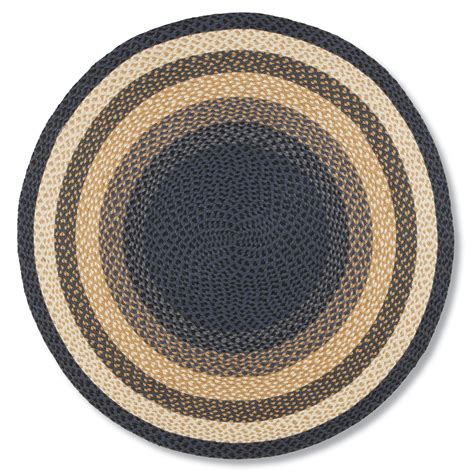 country braided rug jute braided rug